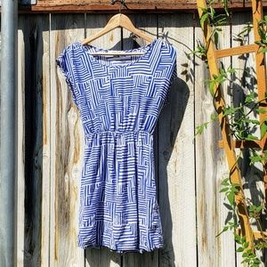 Forever 21 | Dress | Blue and White Boxy Stripe